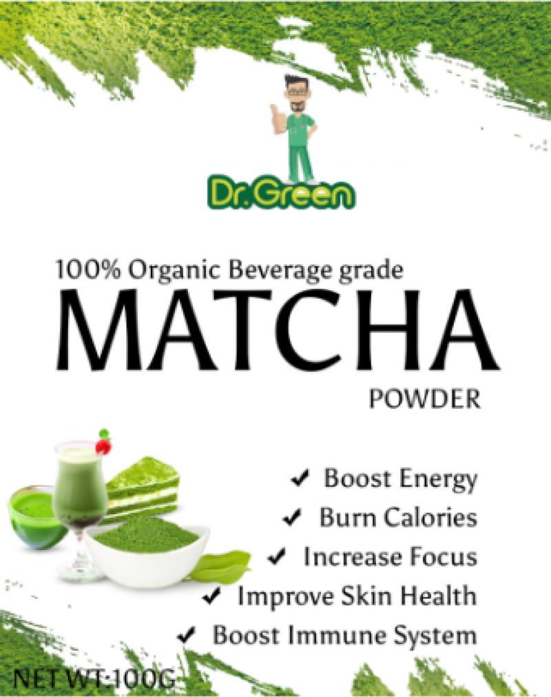 DR. GREEN MATCHA TEA (THE PREMIUM GRADE)